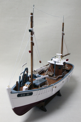 Fiskebåt GG21 40x46 cm