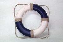 Frälsarkrans - Livboj Antikstil Blå 50 cm