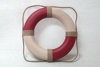 Frälsarkrans - Livboj Antikstil Röd 50 cm