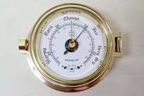 Pilot Barometer Mässing 14 cm