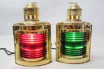 Lanternor Mässing 25x17 cm