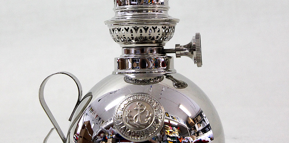 Nattlampa Karlskrona Lampfabrik. 24 cm